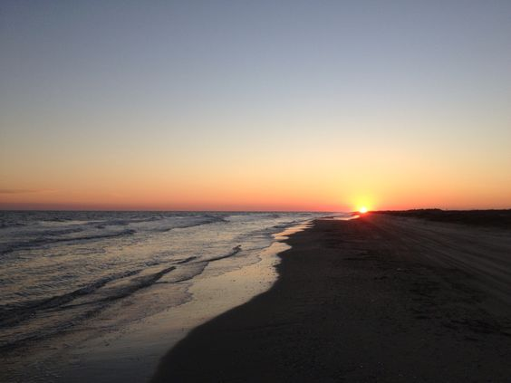 Matagorda Beach Sunset